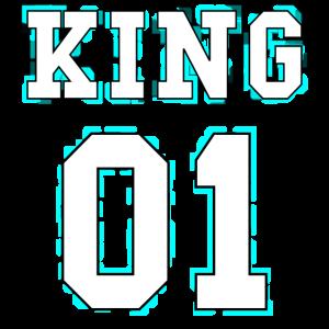 King - Queen Pärchendesign