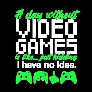 Videospiele Gaming Spruch Zocken