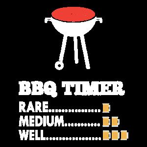 BBQ Timer - Grillen - Rare - Medium - Well