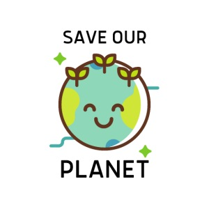 Save our planet LIGHT