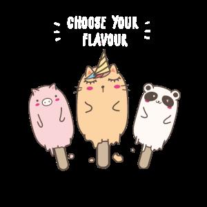 Anime Kawaii Eis Kawaii Tiere Kawaii Panda Einhorn