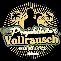 T Shirt Projektleiter Vollrausch Team Mallorca
