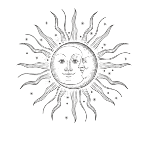 Mond Sonne Moon Sun