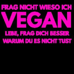 Veganer Spruch