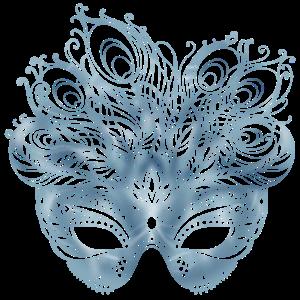Gefiederte Maske