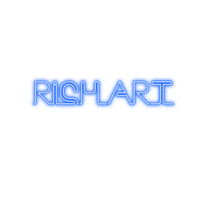 RICH_ART NEON BLUE