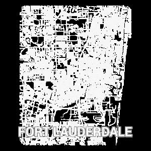 Fort Lauderdale Stadtplan und Straßen