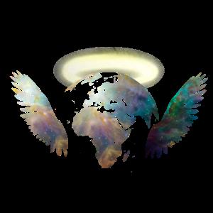 Weltengel Klimaschutz Umwelt Weltraum Engel
