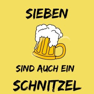 Sieben Bier - schwarz