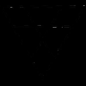 Geometrie Dreieck Motiv
