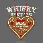 Whisky T Shirt Glühwein & Lebkuchenherz