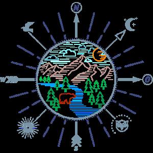 Wildnis (Kompass, minimal)