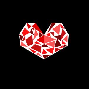 Retro Herz