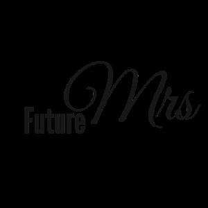 Future Mrs Misses Verlobung Design Verlobt