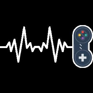 Gaming Game Zocken Herzschlag Herzfrequenz