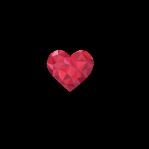 Love 2020. Herzschlag Musik Kurve