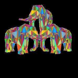 Elefanten 3 D