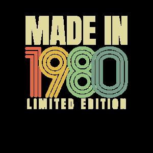 1980 Geburtstagsgeschenk Baujahr Geburtsjahr 80