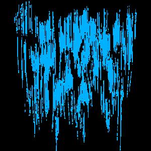 Hintergrund / Blau