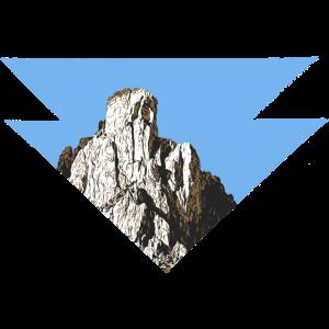 den Berg im Visier