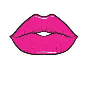 80 Jahre Hot Pink Lippen 80er Mottoparty