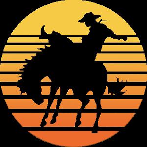 Rodeo Western Reiten