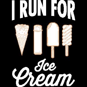 I Run For Ice Cream - Running, Marathon, Runner
