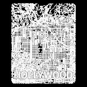 Hollywood Stadtplan und Straßen