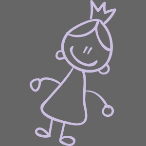 Queen Line Drawing Pixellamb