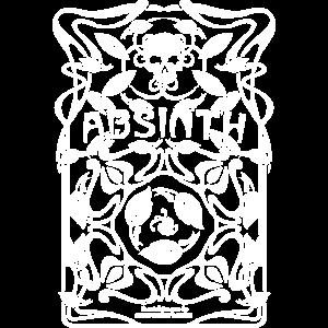 Absinthe T Shirt Absinth Art Nouveau Design