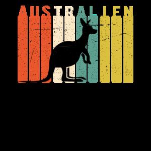 Australien Vintage Känguru - Australien Reise
