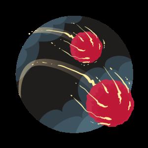 Kometen Weltall