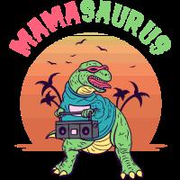 Mamasaurus - Dinosaur T Rex Dino, 80s Vintage