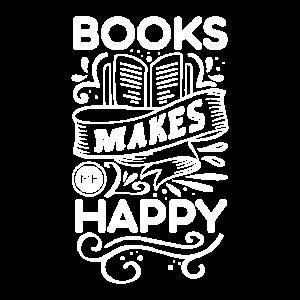Bücher machen mich glücklich