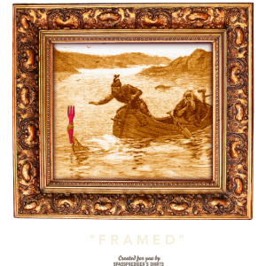 "Geek T Shirt ""Framed"""