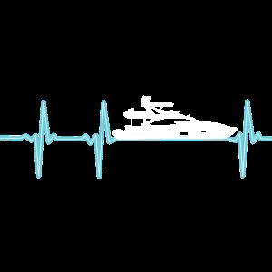 Herzschlag Boot Yacht