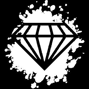 diamant klecks
