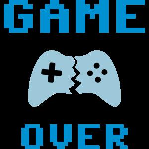 ★ Designfarben änderbar ★ Game over, Gamepad