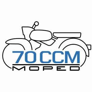 Moped Sperber Habicht 70 ccm Emblem