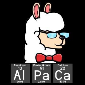 Alpaka-Wissenschafts-Chemie-Alpaka-Liebhaber