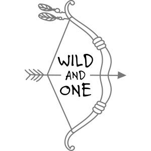 1. Geburtstag Wild and One Spruch zur Geburt