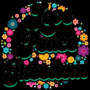 Hippie | Liebe Frieden Freiheit Hippies Geschenke