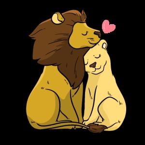 Löwe und Tiger Lovers