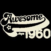 Awesome 1960 50. Geburtstag Fünfzig Jahre