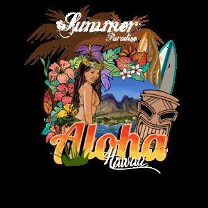 Sommer Paradies Hawaii