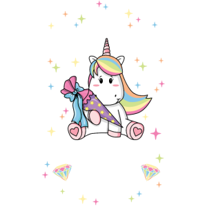 Tschüss Kindergarten Einhorn Einschulung