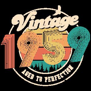 Vintage 1959 - 50. Geburtstag - Fünfzig Jahre