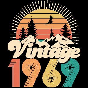 Vintage 1969 - 40. Geburtstag - Vierzig Jahre