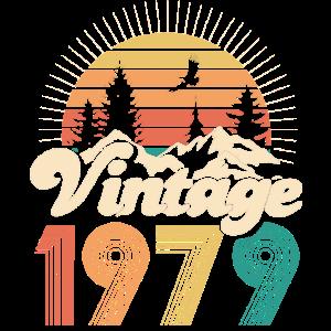 Vintage 1979 - 30. Geburtstag - Dreißig Jahre