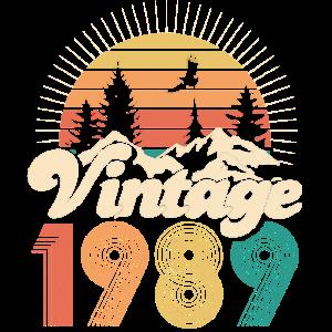Vintage 1989 - 30. Geburtstag - Dreißig Jahre